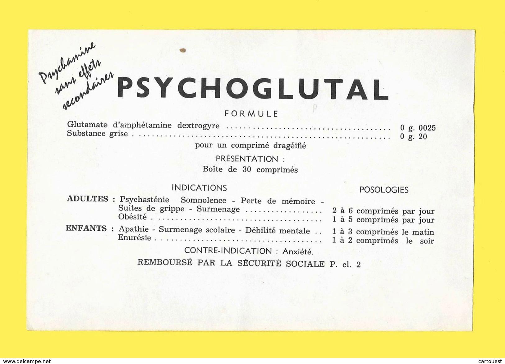 PHARMACIE : Pub PSYCHOGLUTAL ( Hémorragies) Labo FRAYSSE Arènes SANGLANTES ( Illustré DUBOUT Albert ) Sport Boxe Sang - Produits Pharmaceutiques