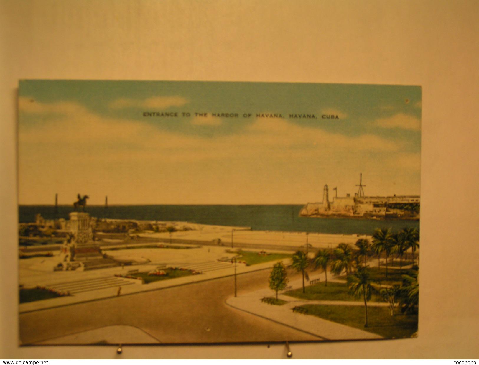 Havana - Entrance To The Harbor Of Havana - Cuba