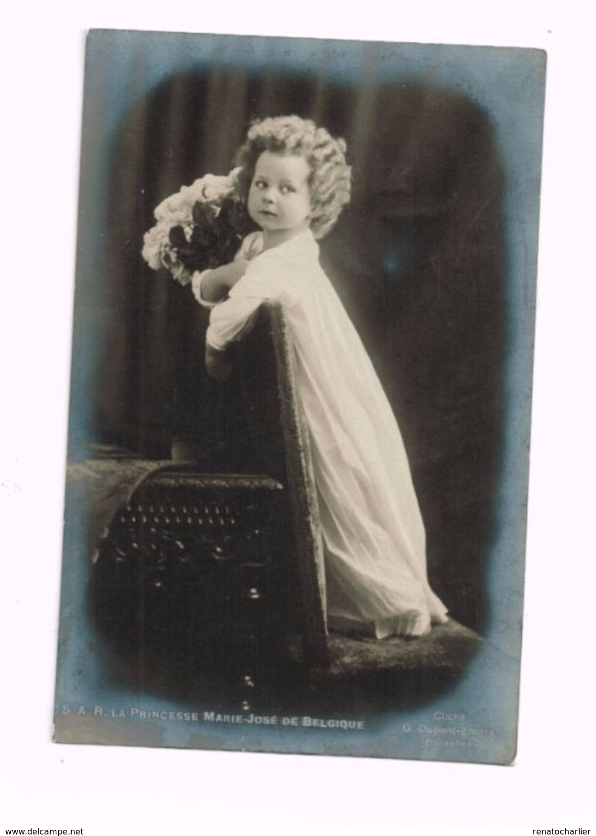 S.A.R. La Princesse Marie-José De Belgique. - Familles Royales