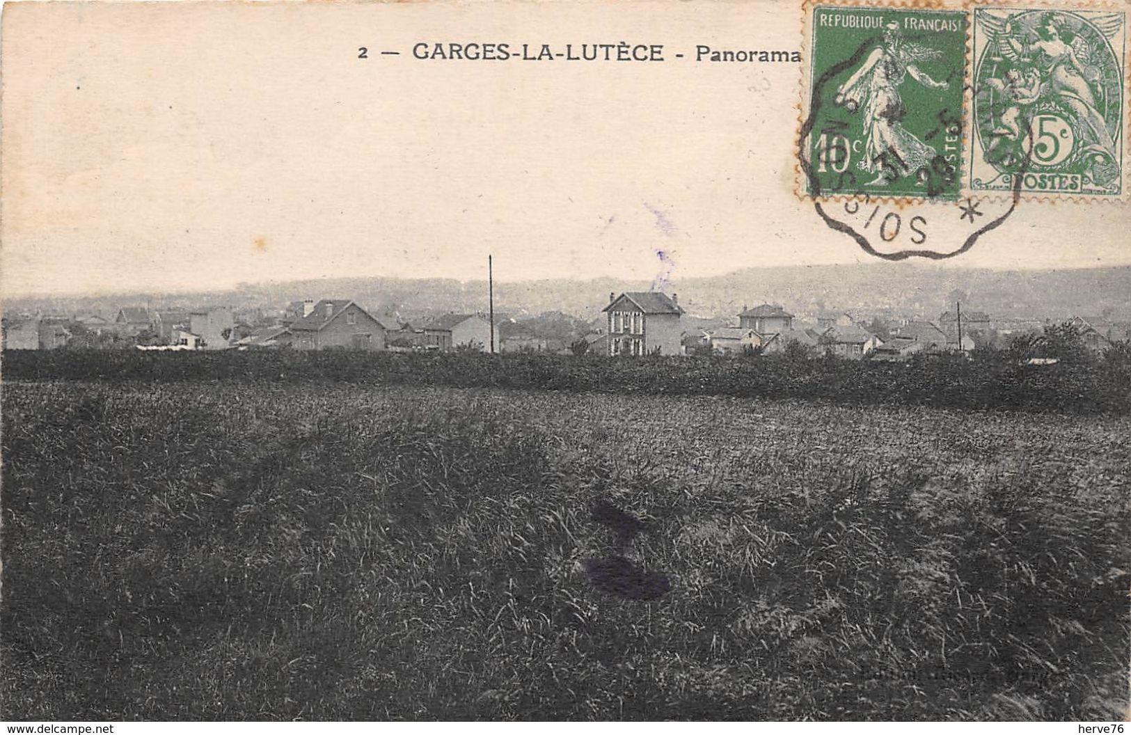 GARGES LA LUTECE - Panorama - France