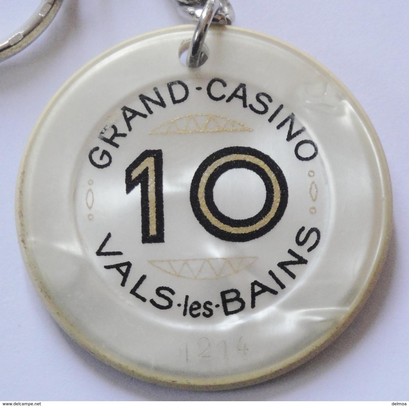 Keychain Jeton Casino Vals Les Bains - Porte-clefs