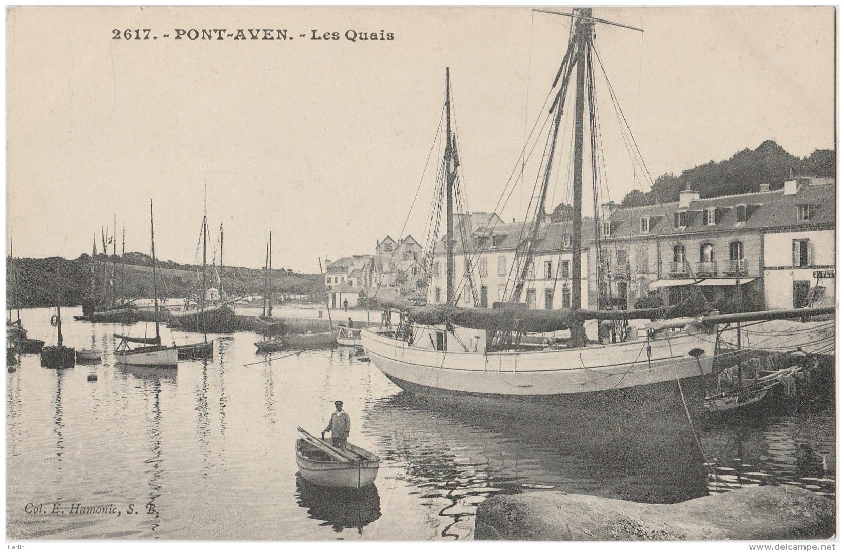 CV / 29 - PONT-AVEN - Les Quais (impeccable) - Pont Aven