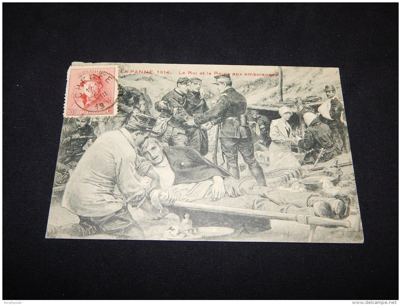 Belgium 1920 Ambulance Thematic Postcard__(L-5162) - Covers & Documents