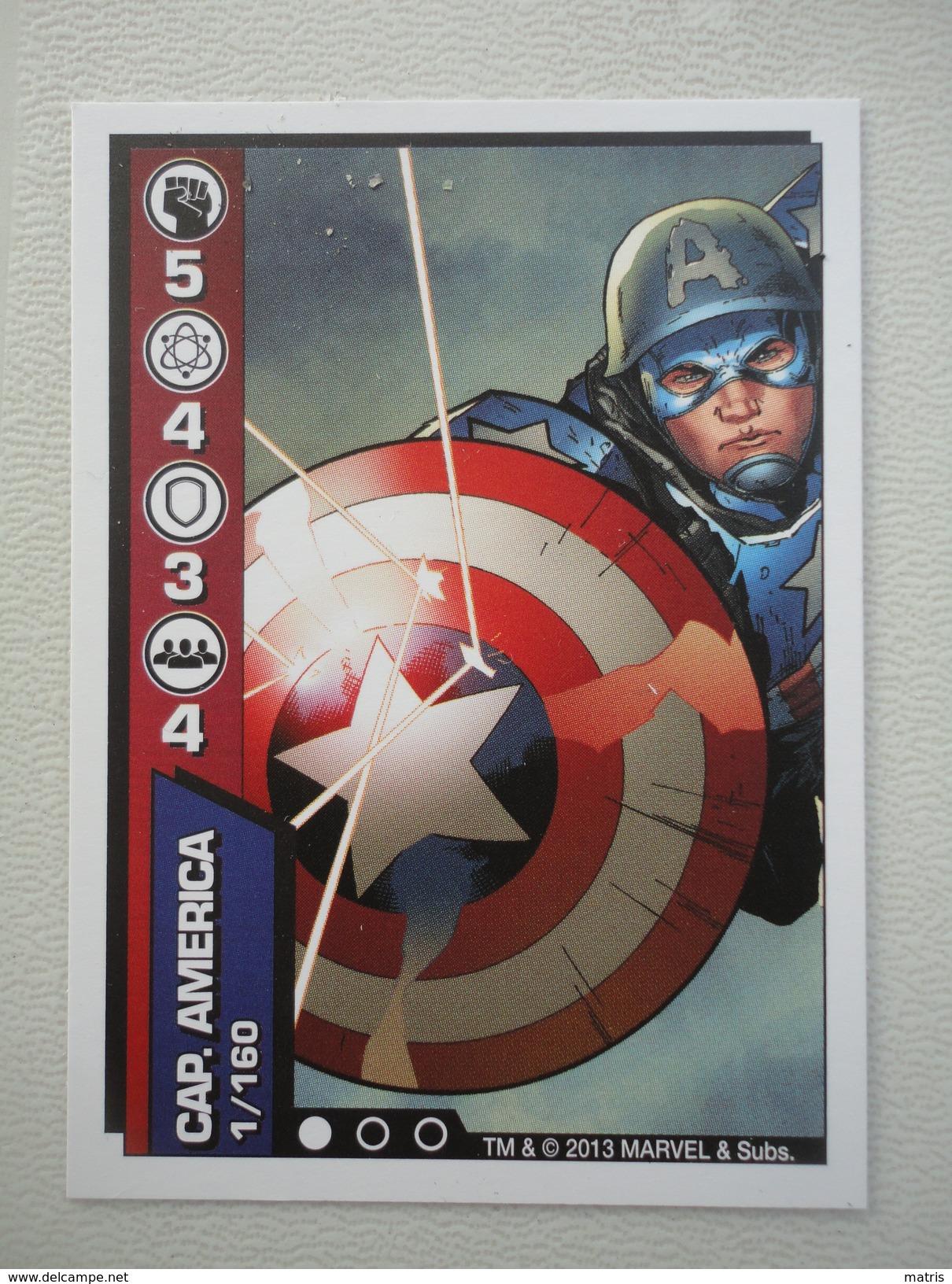 E' Tempo Di Eroi Marvel - 5 Card - Supermercati Coop Lombardia - Novembre 2013 - Marvel