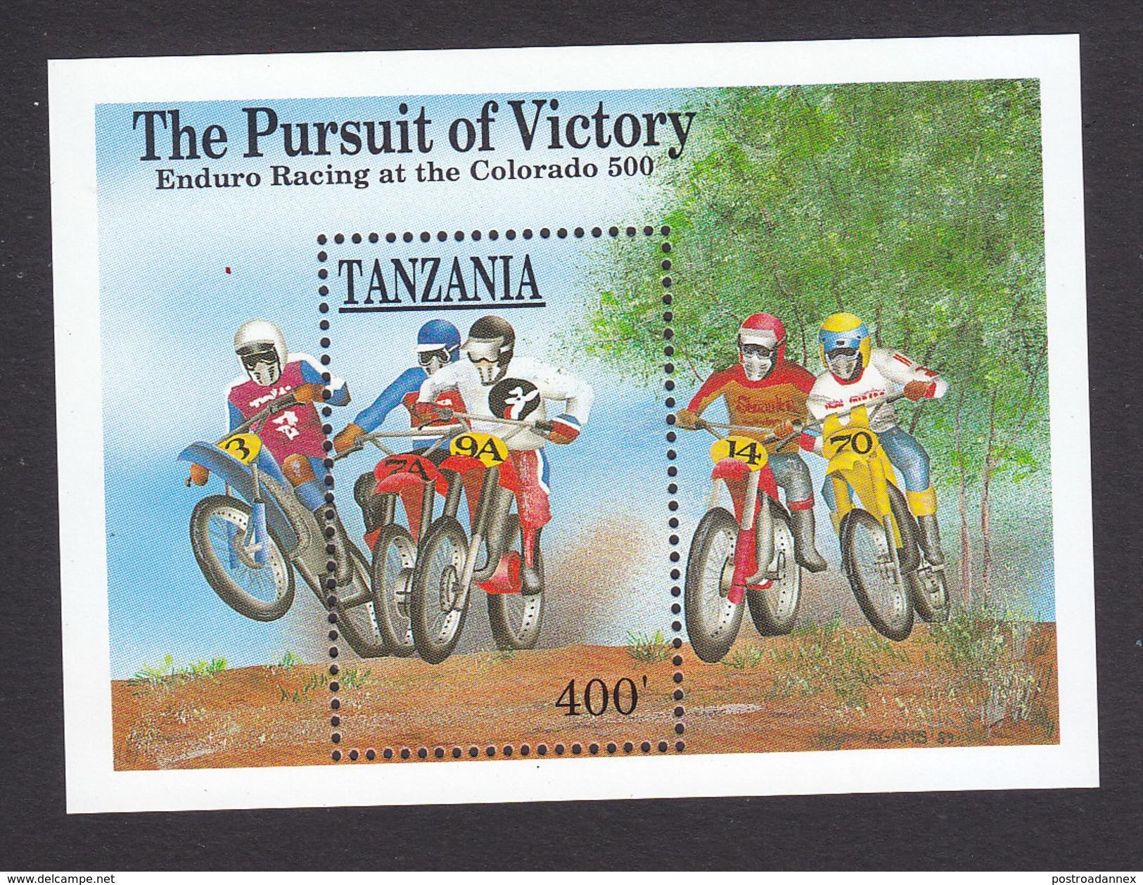 Tanzania, Scott #646, Mint Never Hinged, Sports, Issued 1990 - Tanzania (1964-...)
