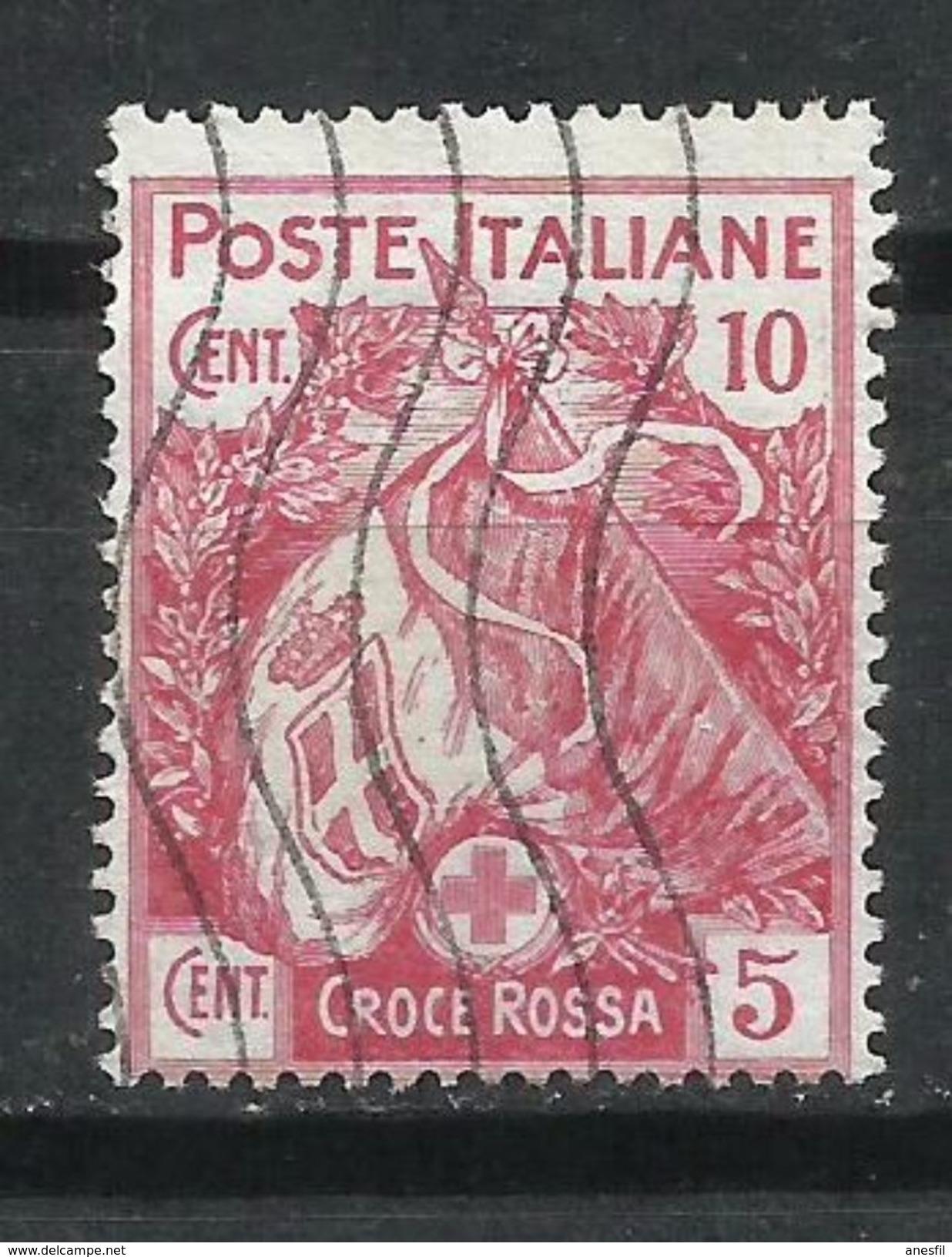 Italia. 1915-16. Sello Por La Cruz Roja. - Nuevos