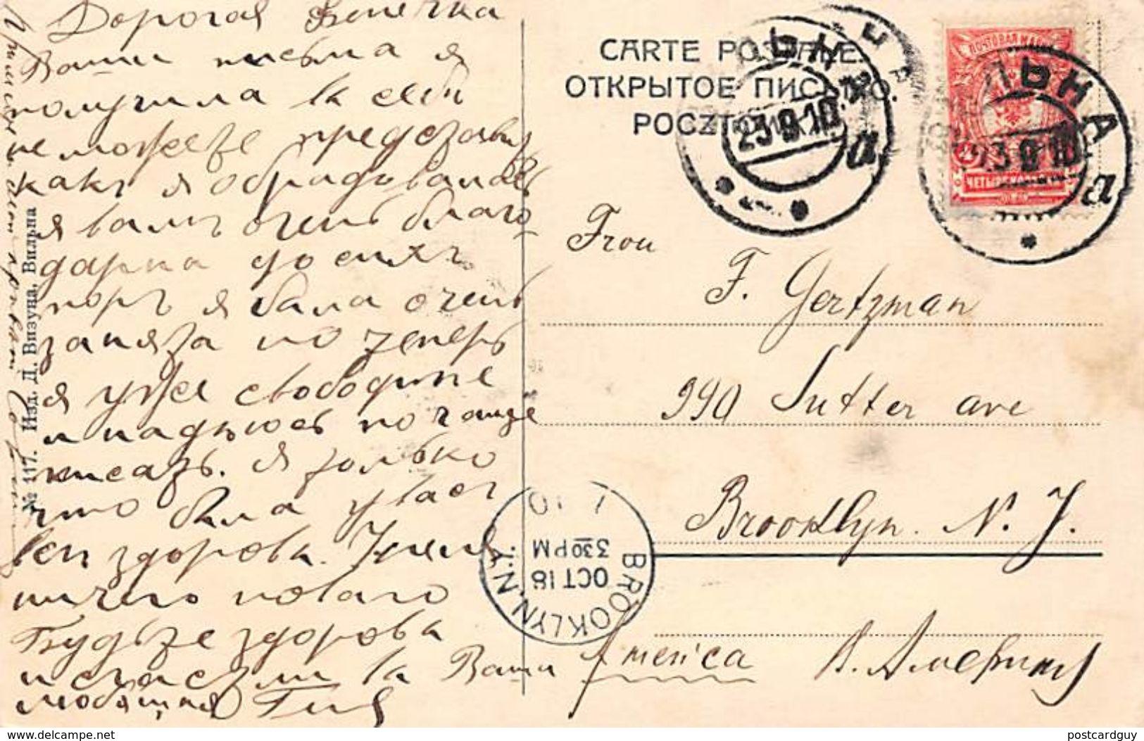 Wilno Lithuania - Ulica Wielka 1910 - Lithuania