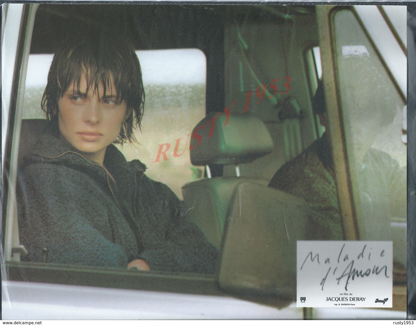 ORIGINALE AFFICHE 27X21 DE CINEMA MALADIE D AMOUR AFFICHE SCANNER DANS SA POCHETTE POUR NE PAS PLIER : - Posters