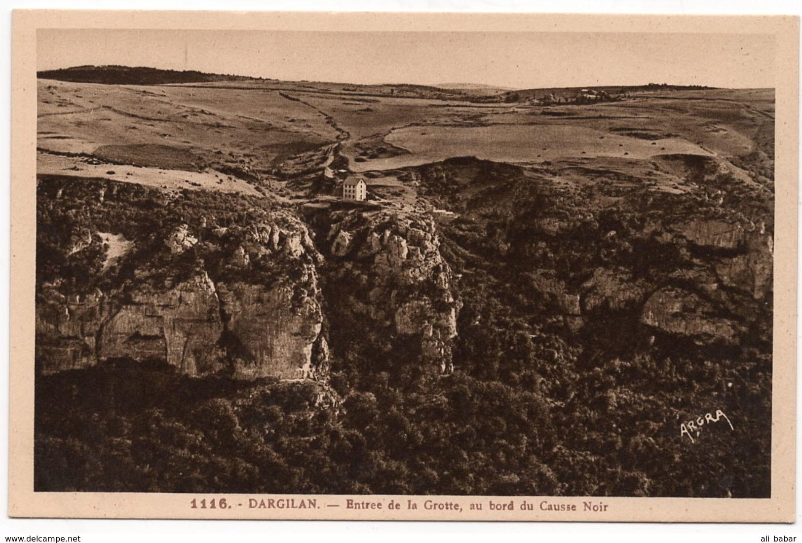 Dargilan : Entrée De La Grotte, Au Bord Du Causse Noir (Editeur Ats Graphiques, Toulouse, ARGRA N°1116) - France