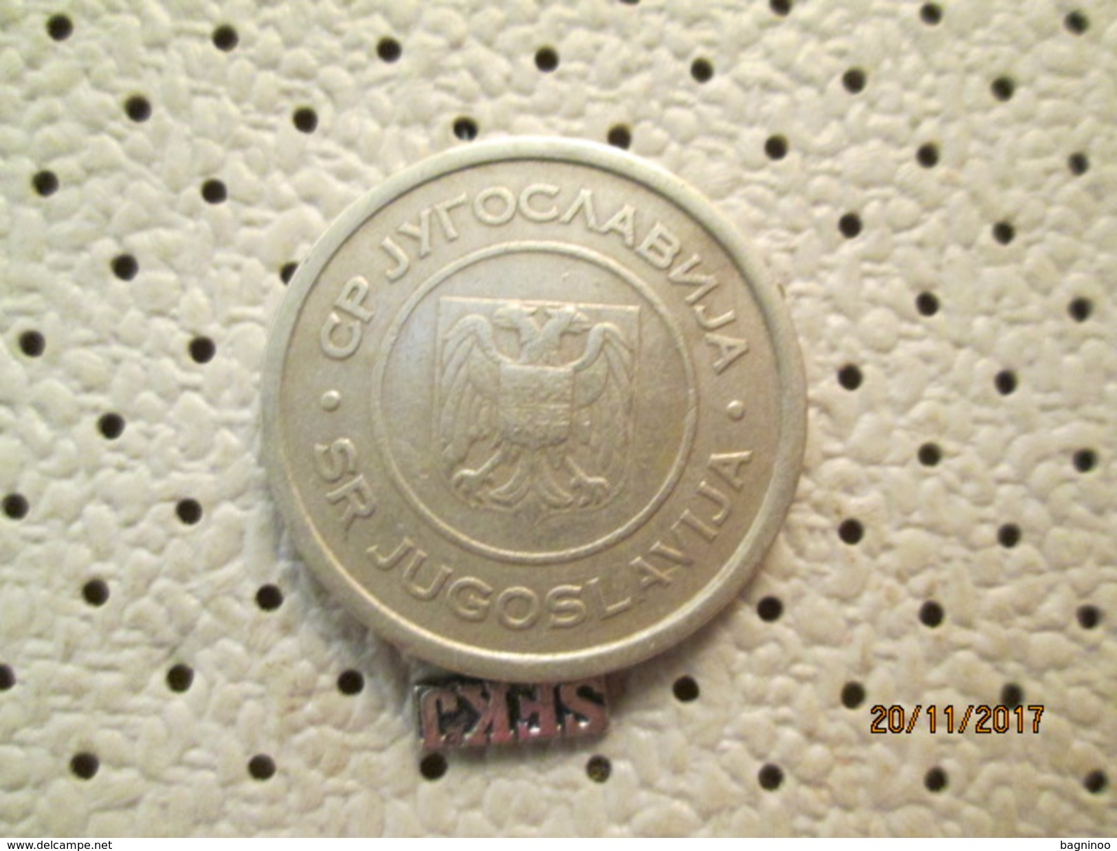 Yugoslavia 5 Dinars 2002 # 5 - Yugoslavia