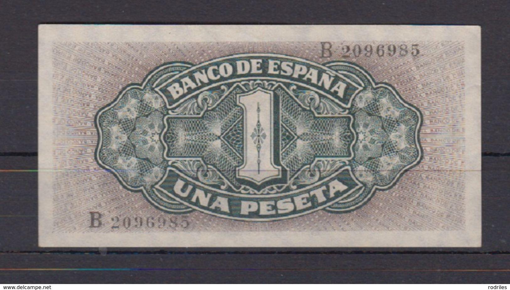 EDIFIL 442a.  1 PTA 4 DE SEPTIEMBRE  DE 1940 SERIE B. - [ 3] 1936-1975 : Régence De Franco