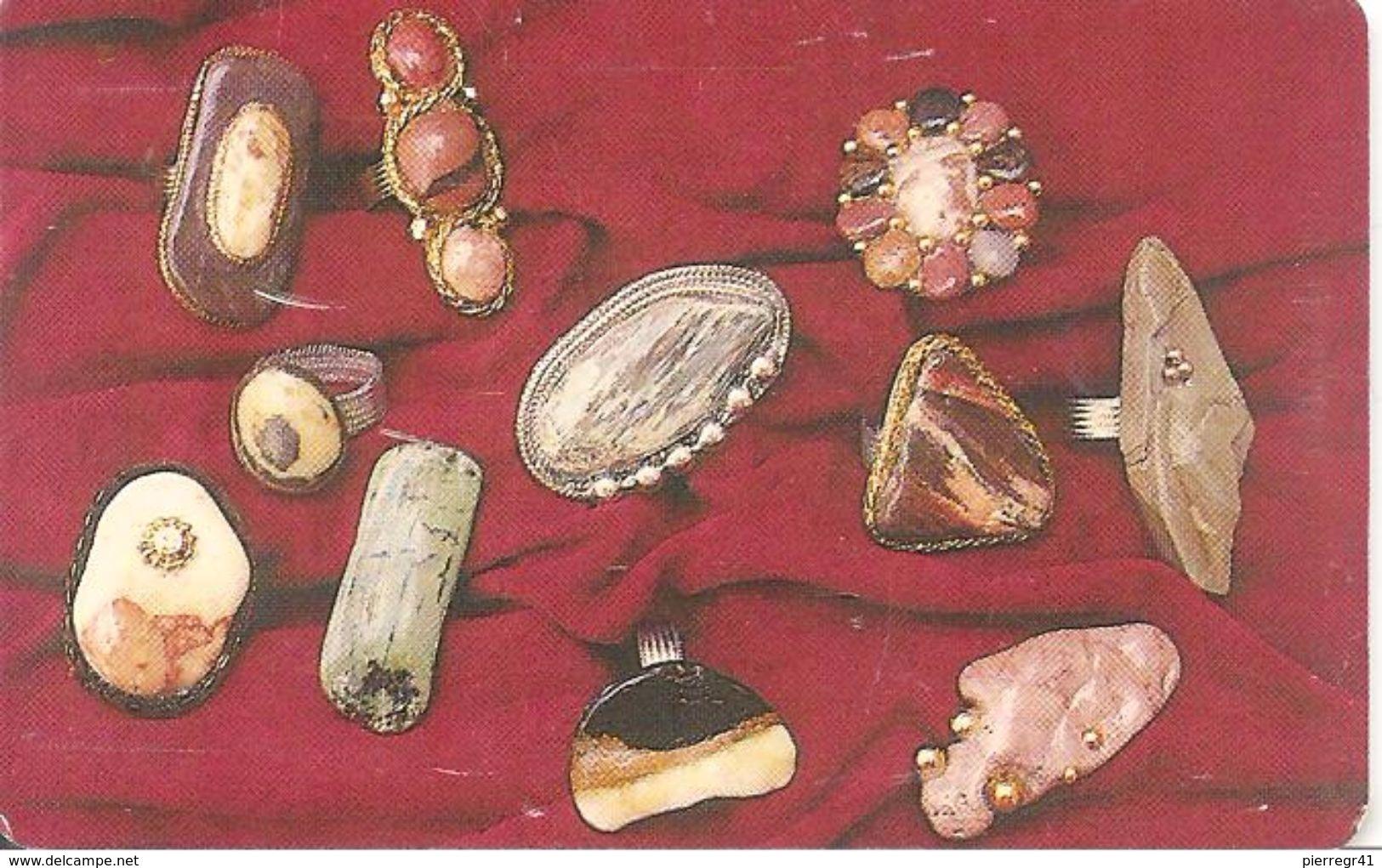 CARTE+-PUCE-GEM 6-09/2001-COLLIER De PIERRE-OMAN--TBE - Oman