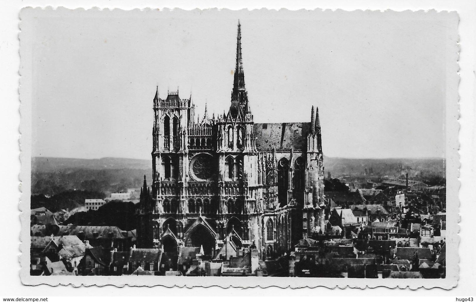 AMIENS - N° 3 - LA CATHEDRALE - VUE GENERALE - FORMAT CPA NON VOYAGEE - Amiens