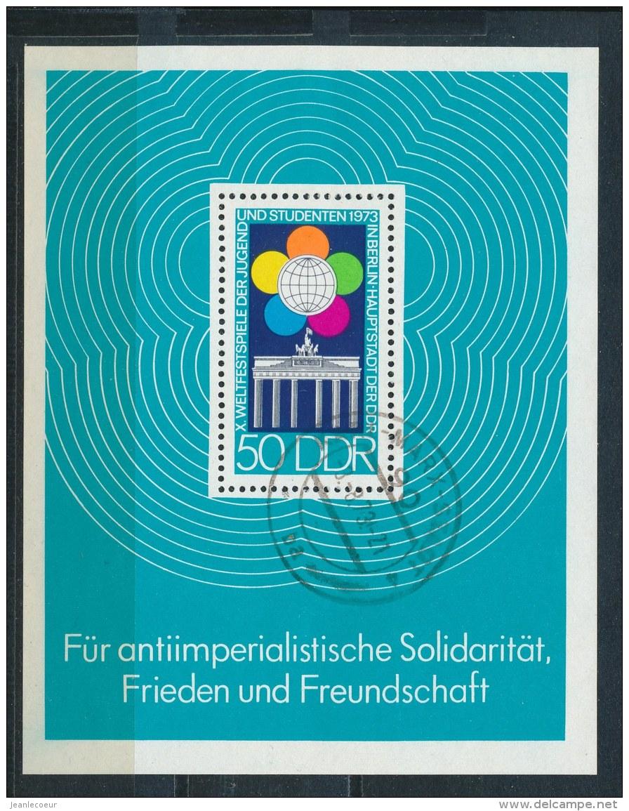 DDR/East Germany/Allemagne Orientale 1973 Mi: Block 38 Yt:  (Gebr/used/obl/o)(2823) - [6] Oost-Duitsland