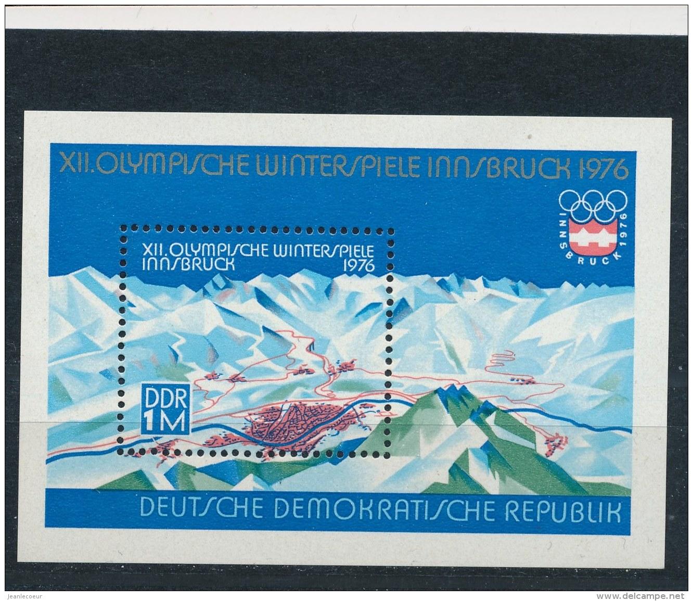 DDR/East Germany/Allemagne Orientale 1975 Mi: Block 43 Yt:  (PF/MNH/Neuf Sans Ch/**)(2827) - [6] Oost-Duitsland