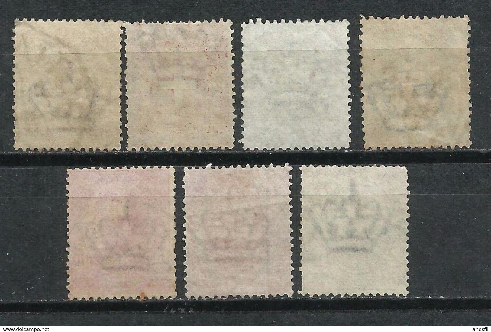 Italia. 1891-97. Escudo De Armas De La Casa De Savoya Y Humberto I - 1878-00 Humberto I