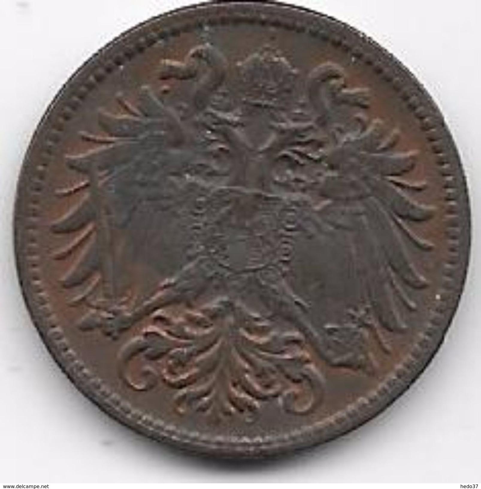 Autriche - 2 Heller 1912 - Autriche