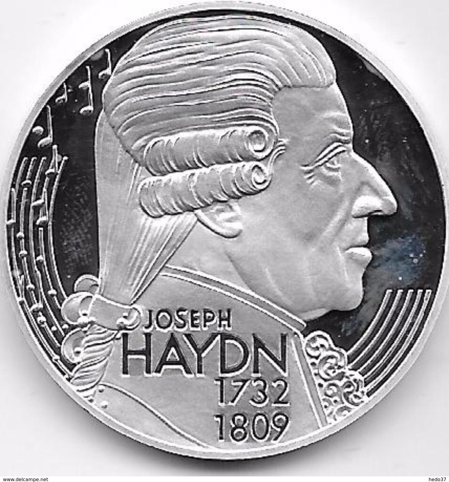 Autriche - 25 Ecu Argent - Haydn - Autriche