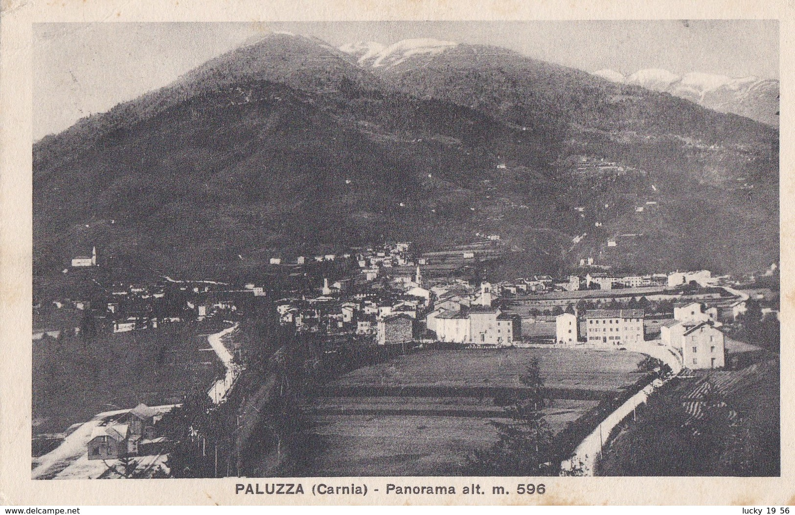 1929 Paluzza Carnia, Cartolina Viaggiata. - Italia