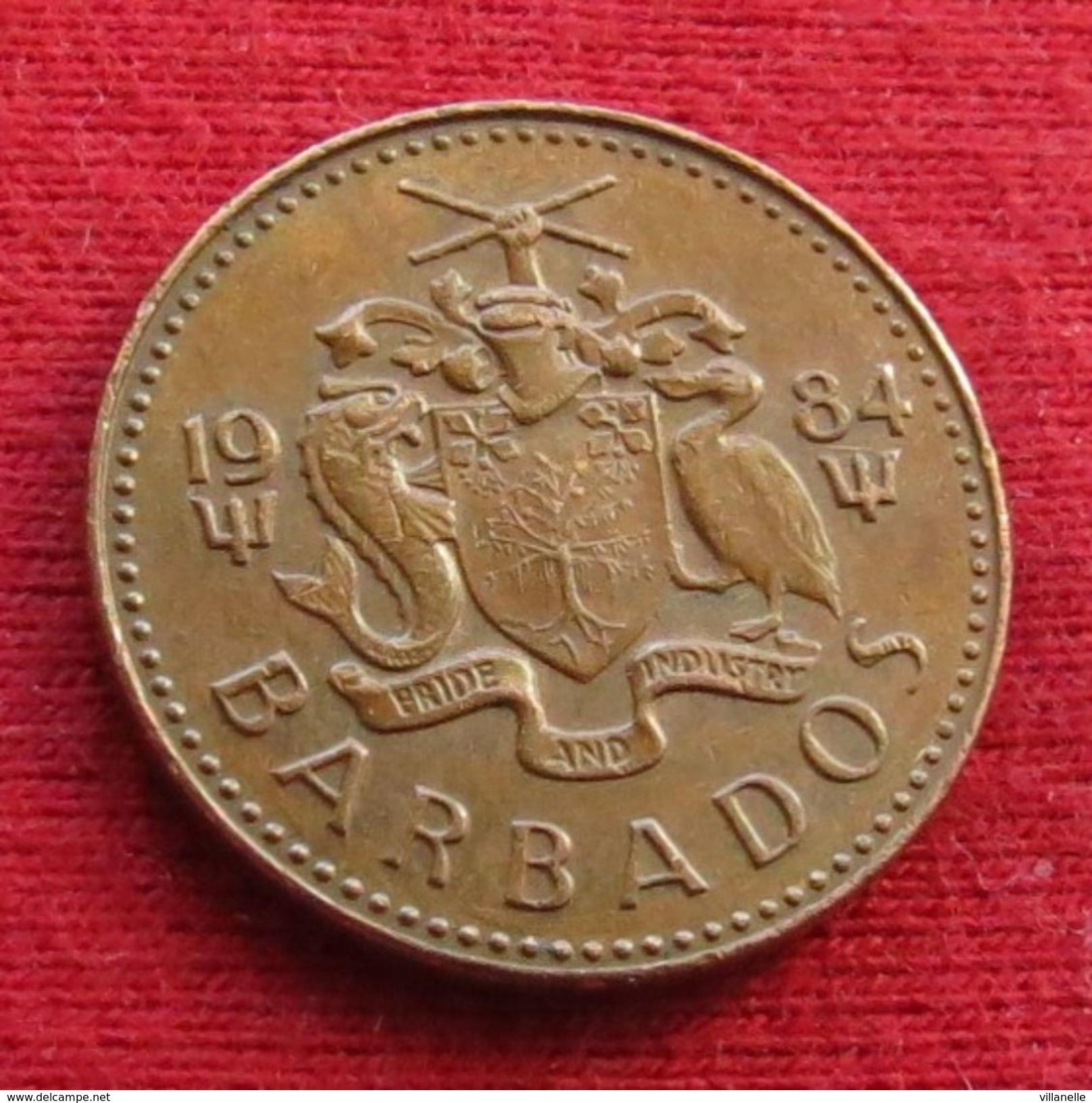 Barbados 1 Cent 1984 KM# 10 Barbades Barbade - Barbades