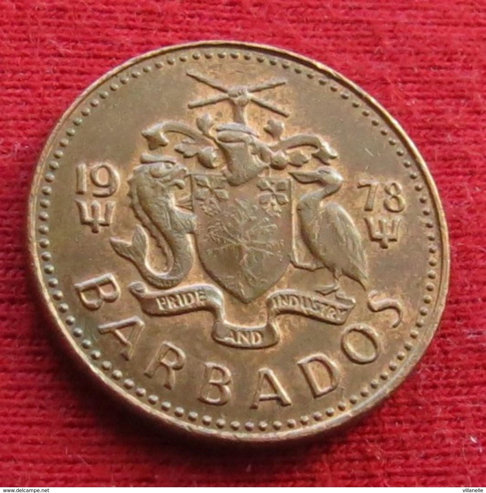 Barbados 1 Cent 1978 KM# 10 Barbades Barbade - Barbades