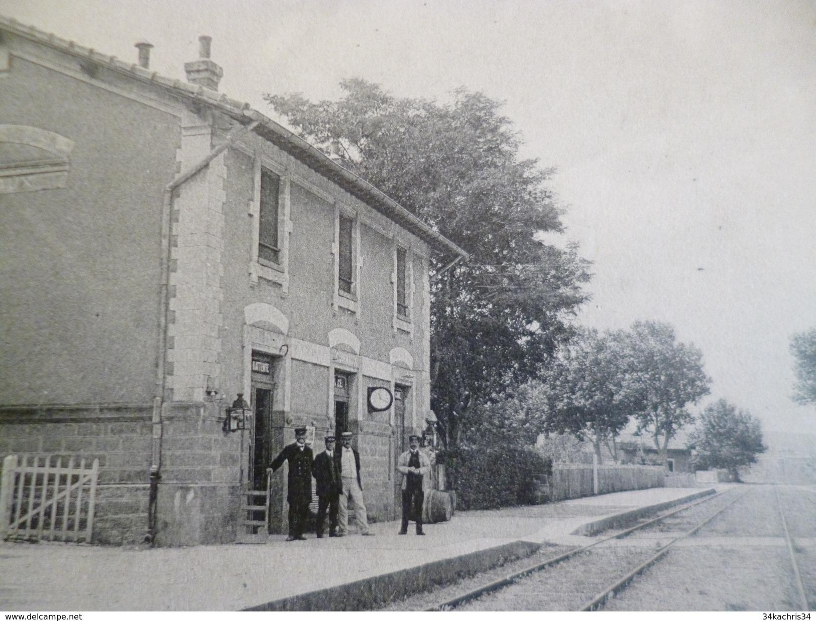 CPA 30 Gard Connaux La Gare TBE - France