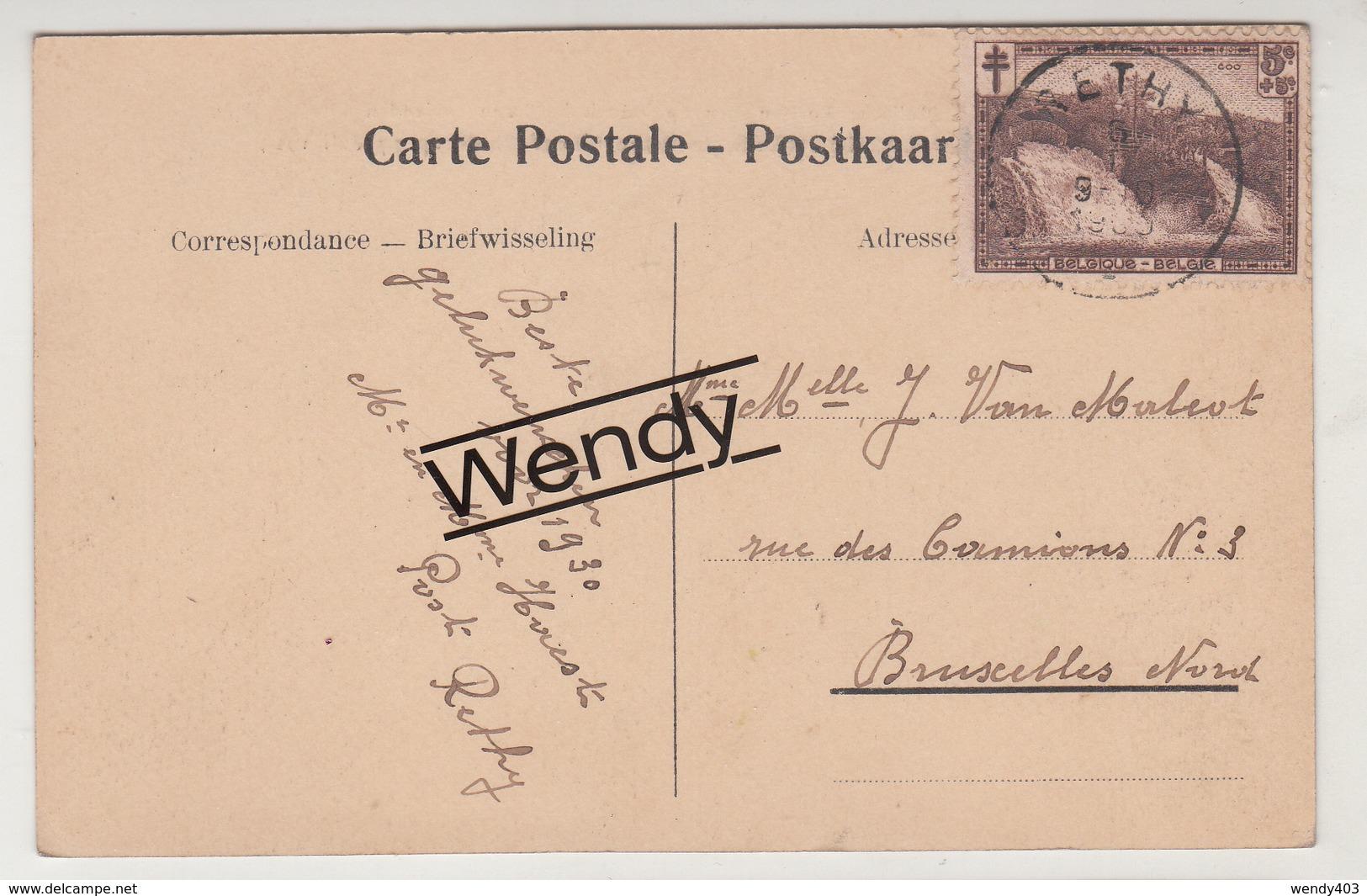 Retie (postfanfaren Op Bezoek Op Boesdijkhof 7 Juli 1924 - Met Vlek) - Retie
