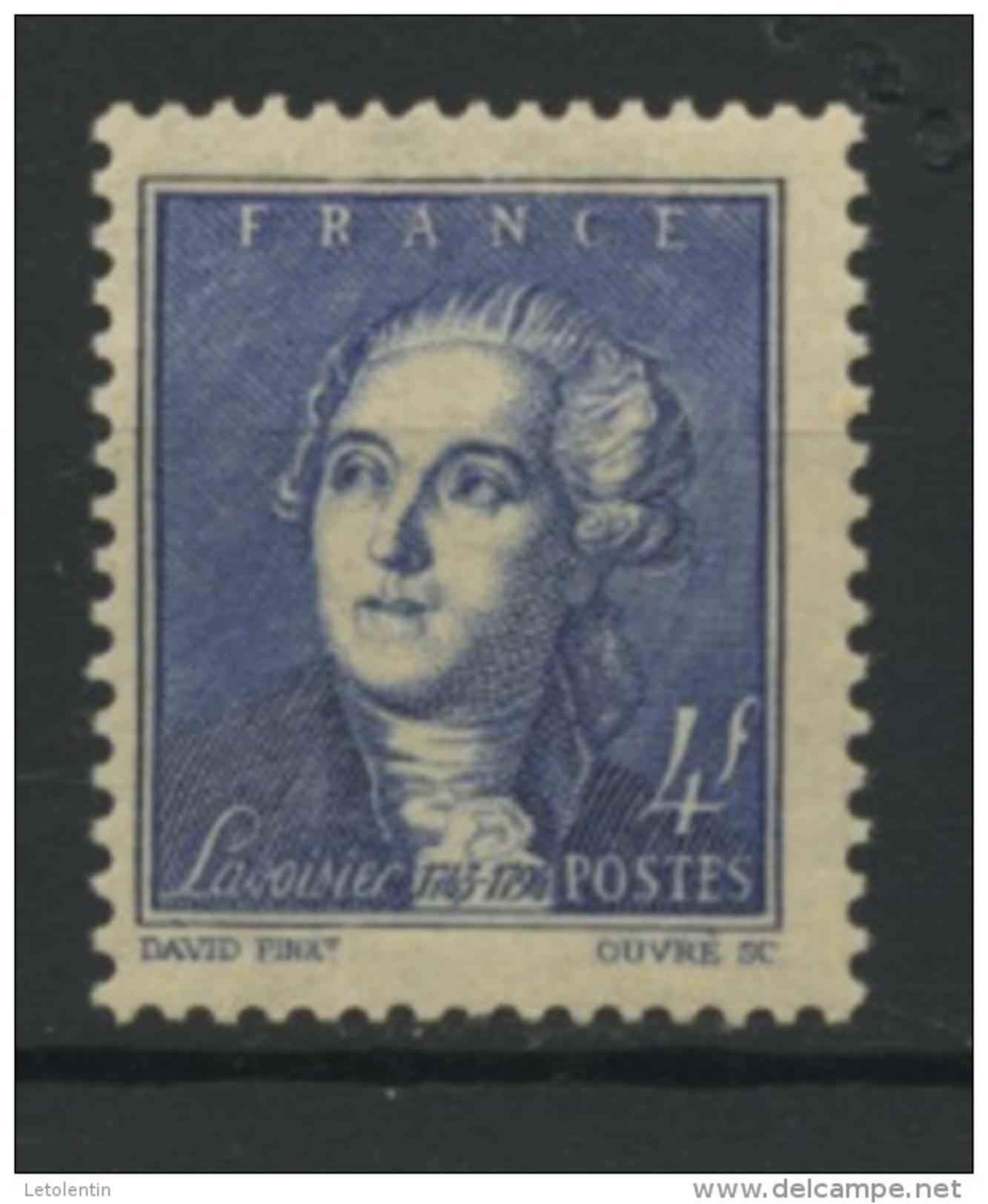 FRANCE - LAVOISIER - N° Yvert 581** - Unused Stamps