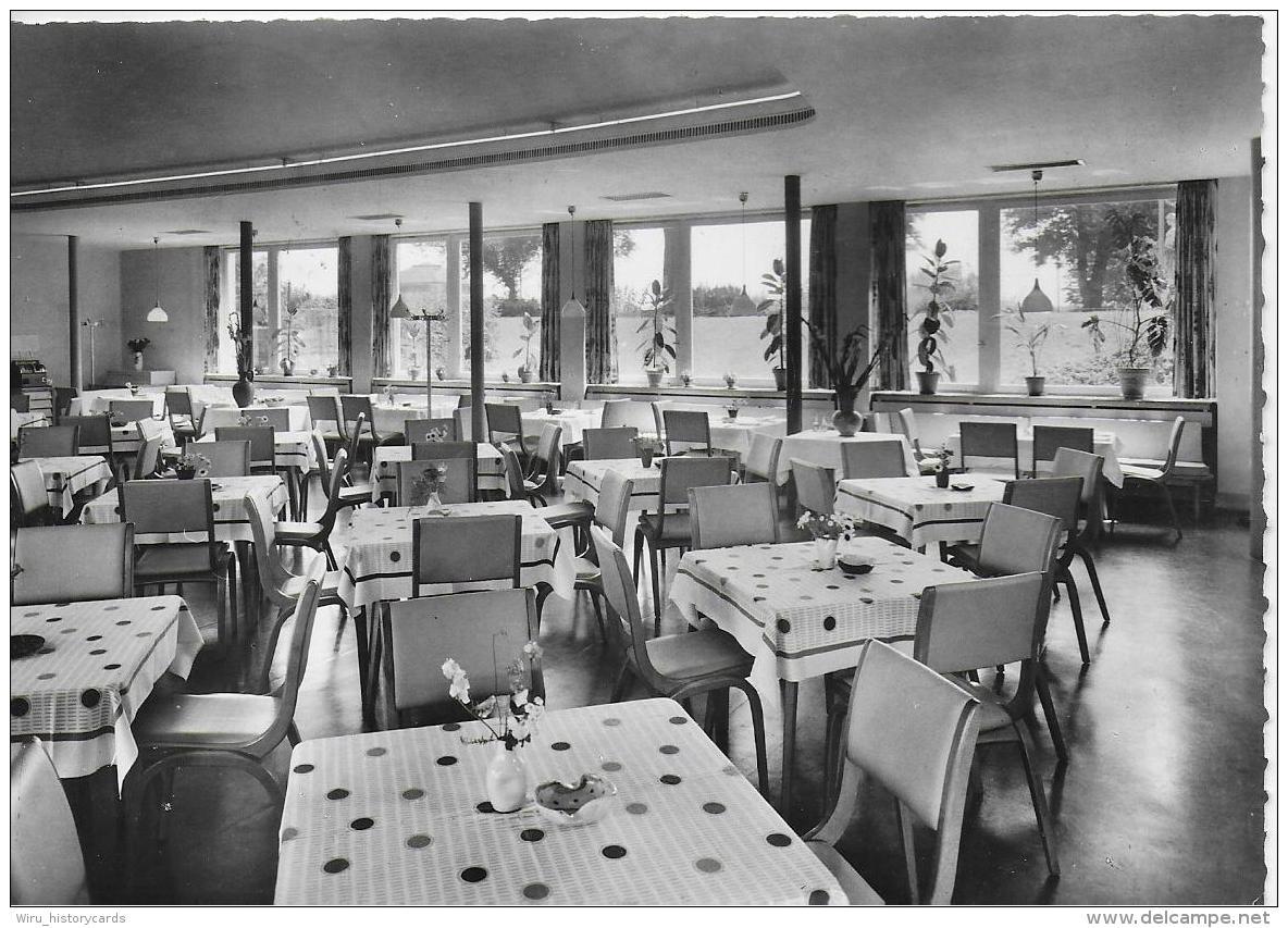 AK 0795  Saarbrücken - Schlossgarten-Restaurant / Foto Kirschmann Um 1959 - Saarbrücken