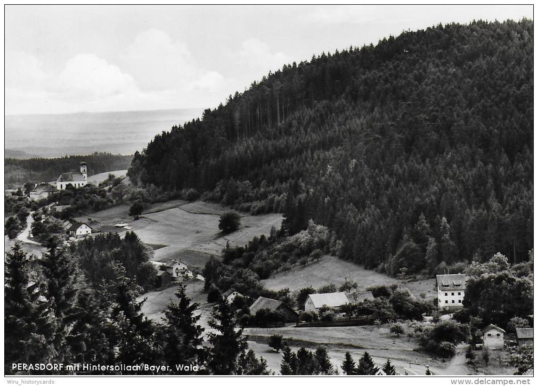 AK 0795  Perasdorf Mit Hintersollach ( Bayer. Wald ) - Foto Eiglsberger Um 1960 - Straubing