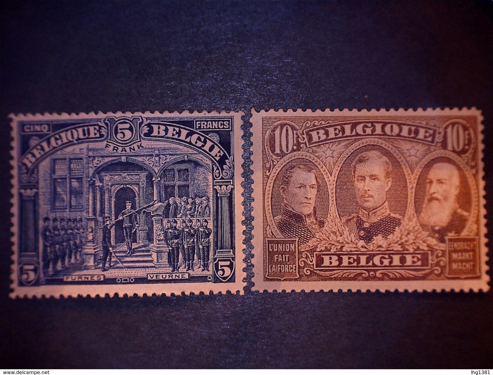 COB/OBP 135/149 - XX - Albert I & Vues Diverses / Verschillende Zichten (centrage Parfait !! / Perfecte Centrage !!) - 1915-1920 Albert I