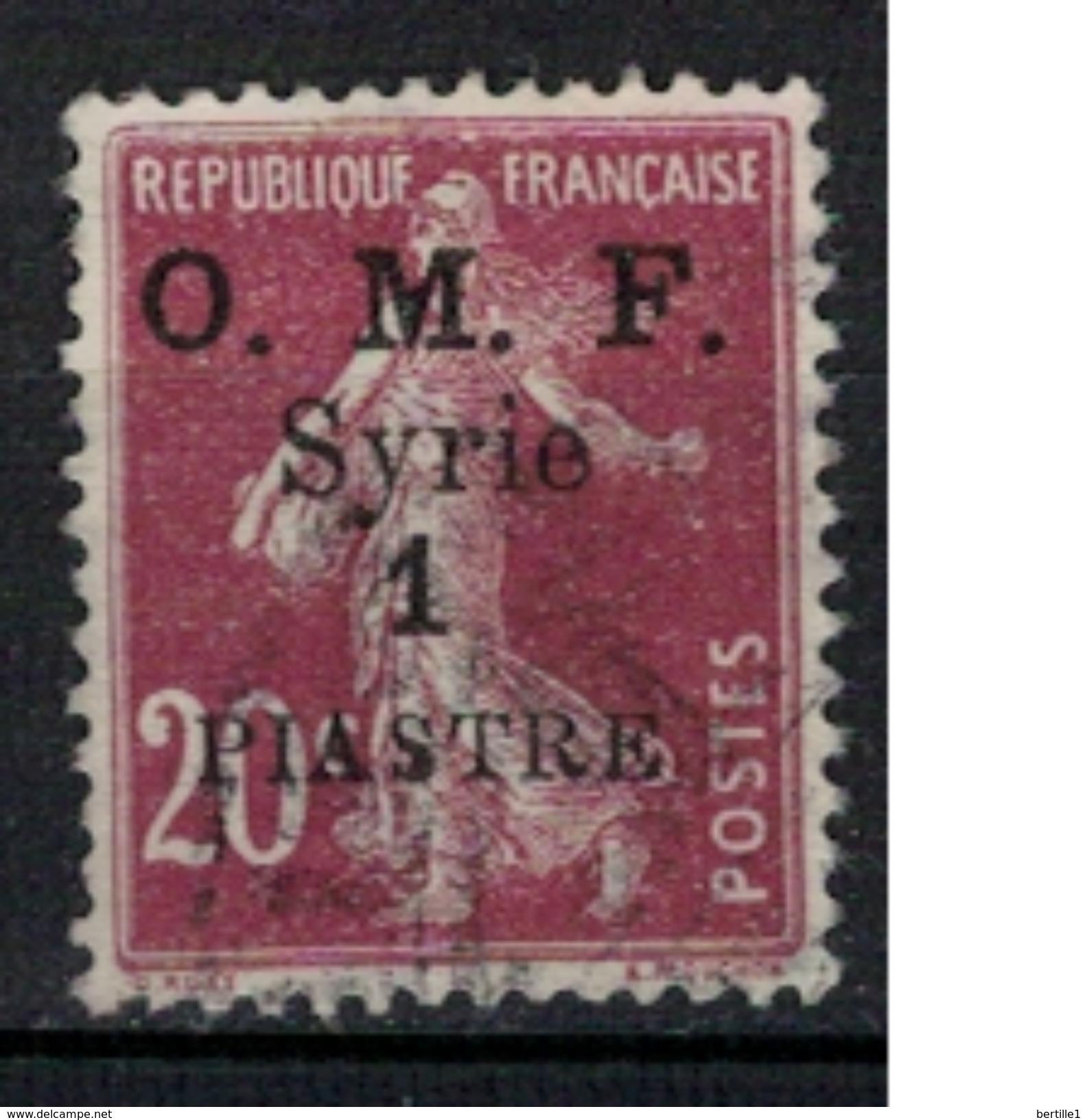 SYRIE      N°  YVERT     60           OBLITERE       ( O   2/15 ) - Syria (1919-1945)