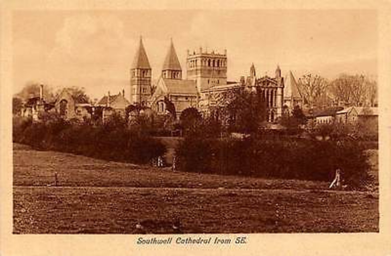 England Southwell Cathedral From S.E. - Non Classificati