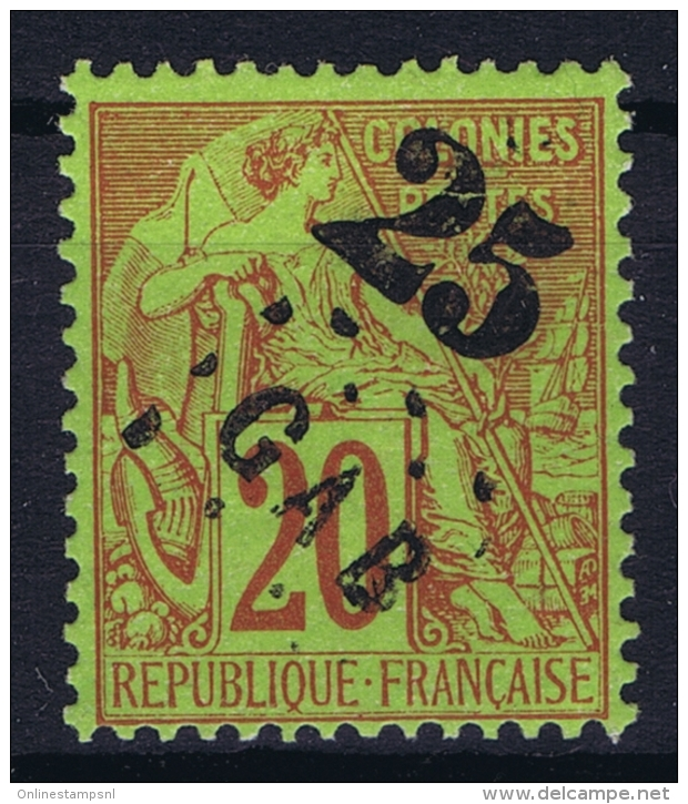 Gabon Yv Nr 3 MH/* Flz/ Charniere 1886 - Unused Stamps