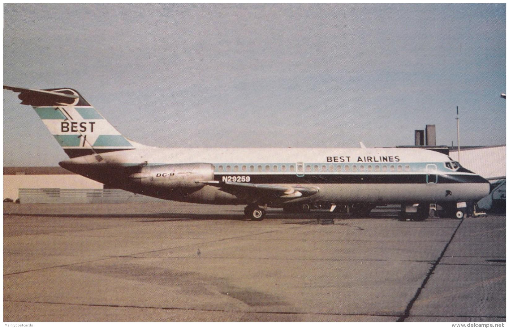 AQ87 Aviation - Best Airlines DC9-10 - 1946-....: Modern Era