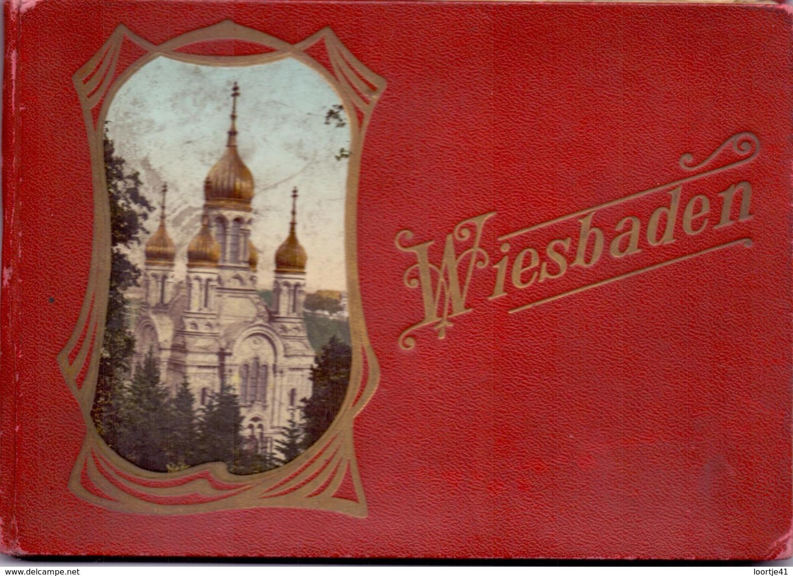 Brochure Toerisme Tourisme - Foto's Photos Bilder - Wiesbaden - 12 St - Dépliants Touristiques