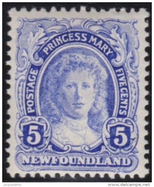 Newfoundlans    .    SG   .       121     .     *       .     Ongebruikt    .    /      .     Mint-hinged - Newfoundland