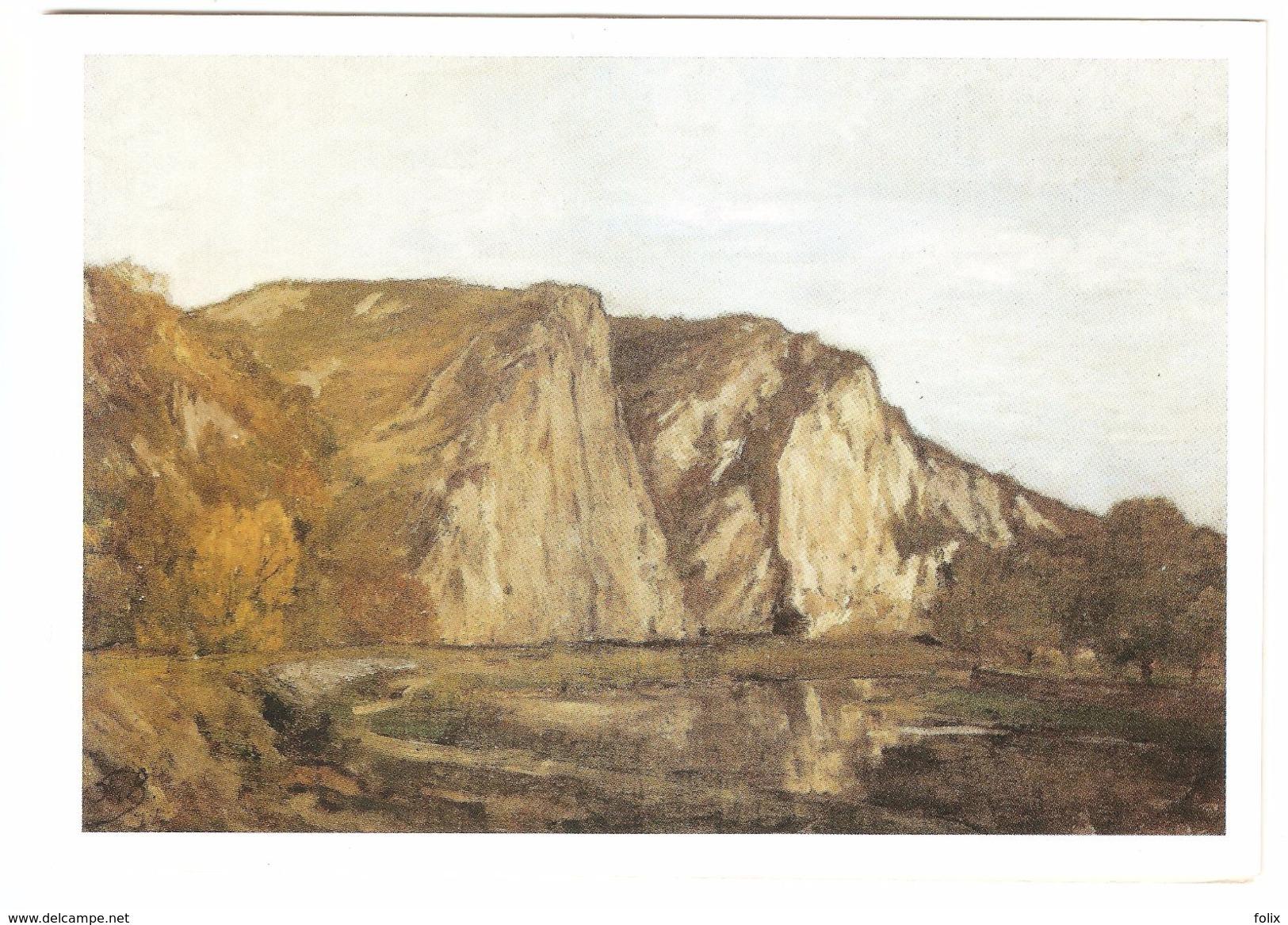 Anseremme - La Meuse à Anseremme - Peinture De Felicien Rops Huile Sur Toile - Carte Photo Double - Dinant
