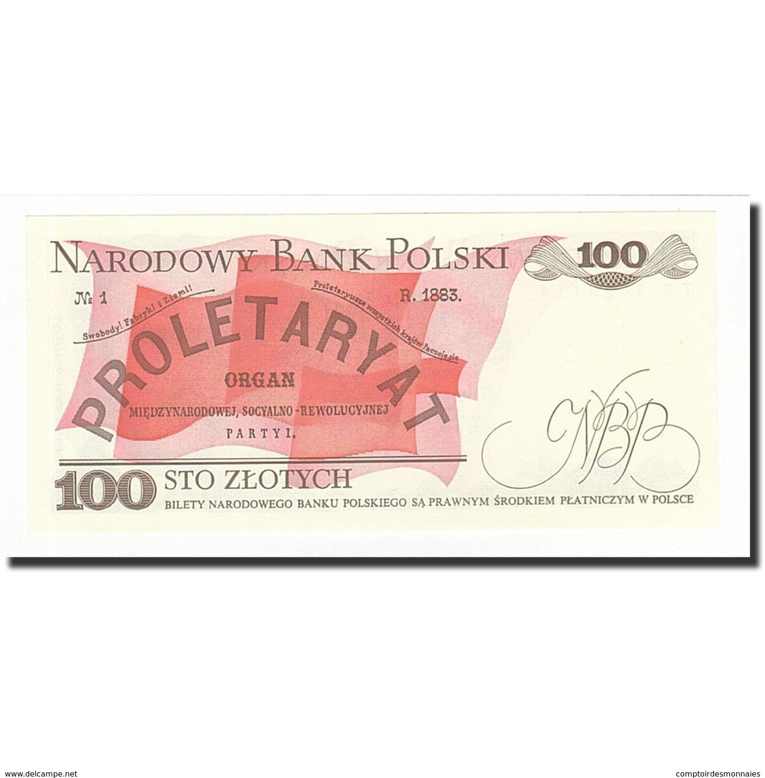 Pologne, 100 Zlotych, 1988-05-01, KM:143e, NEUF - Polen