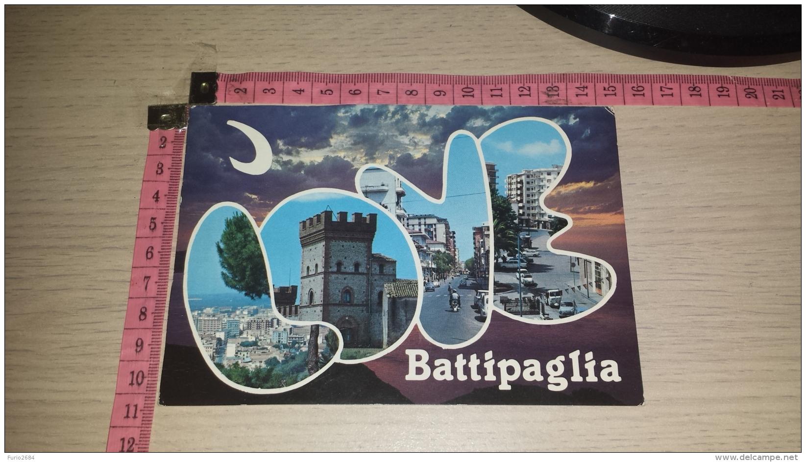 C-53446 BATTIPAGLIA PANORAMA VARIE VEDUTE - Battipaglia
