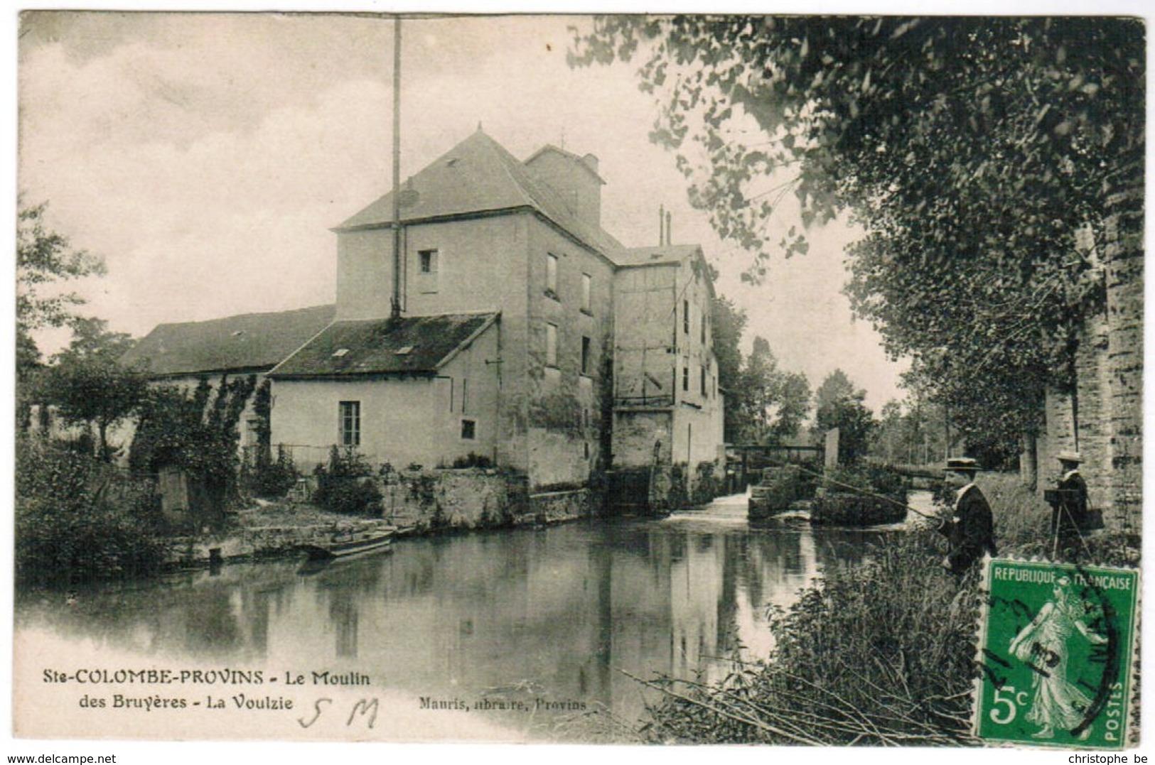 CPA Ste Colombe Provins, Le Moulin Des Bruyères, La Voulzie (pk35977) - France