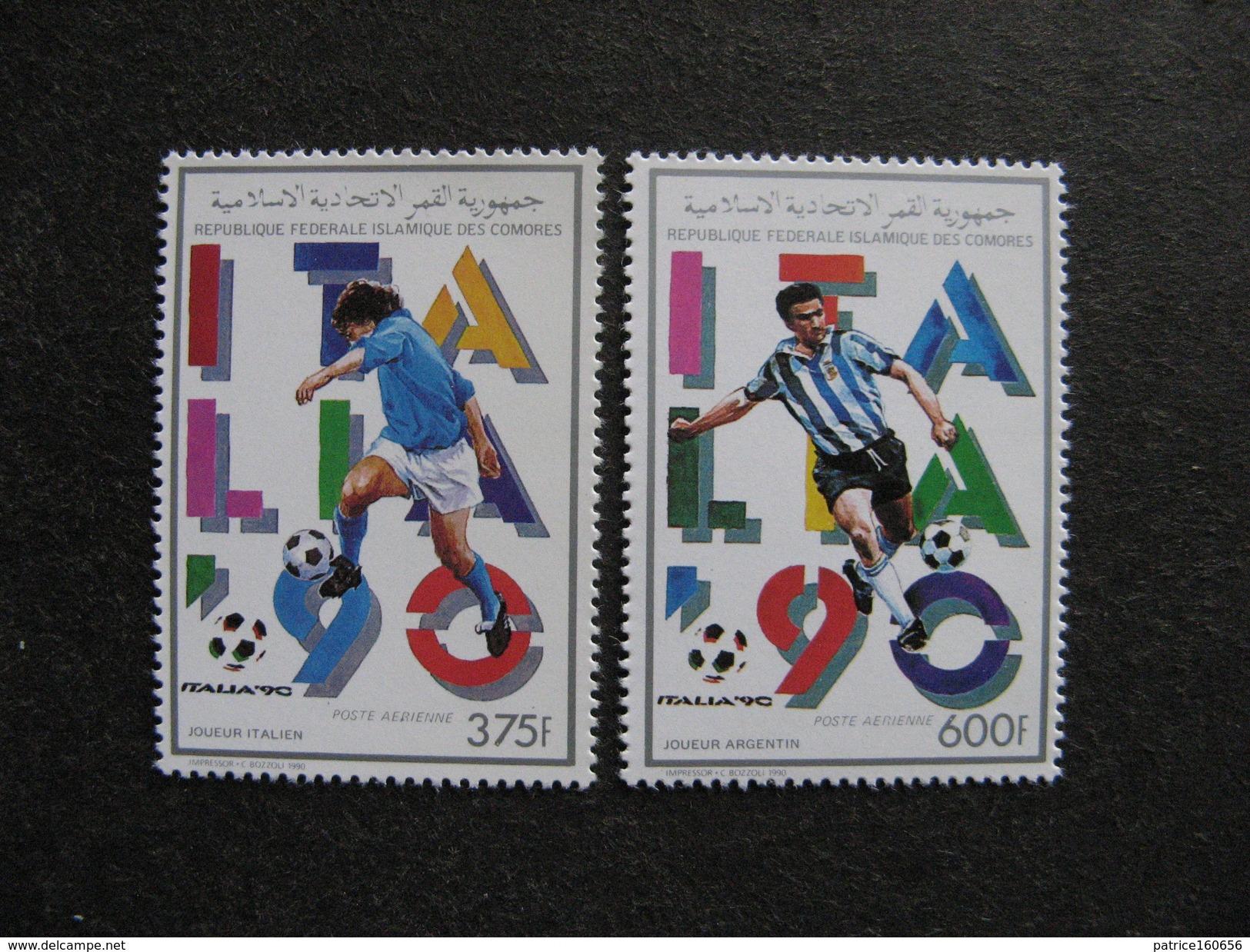 Comores: TB Paire PA N° 287 Et N°288, Neufs XX. - Comores (1975-...)