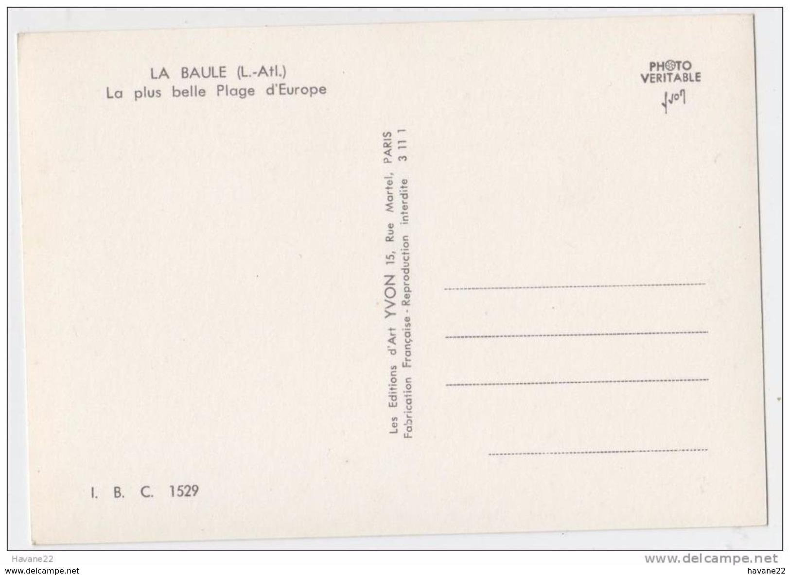 2Y2768 LA BAULE LA PLAGE PEDALOS 2 SCANS - La Baule-Escoublac