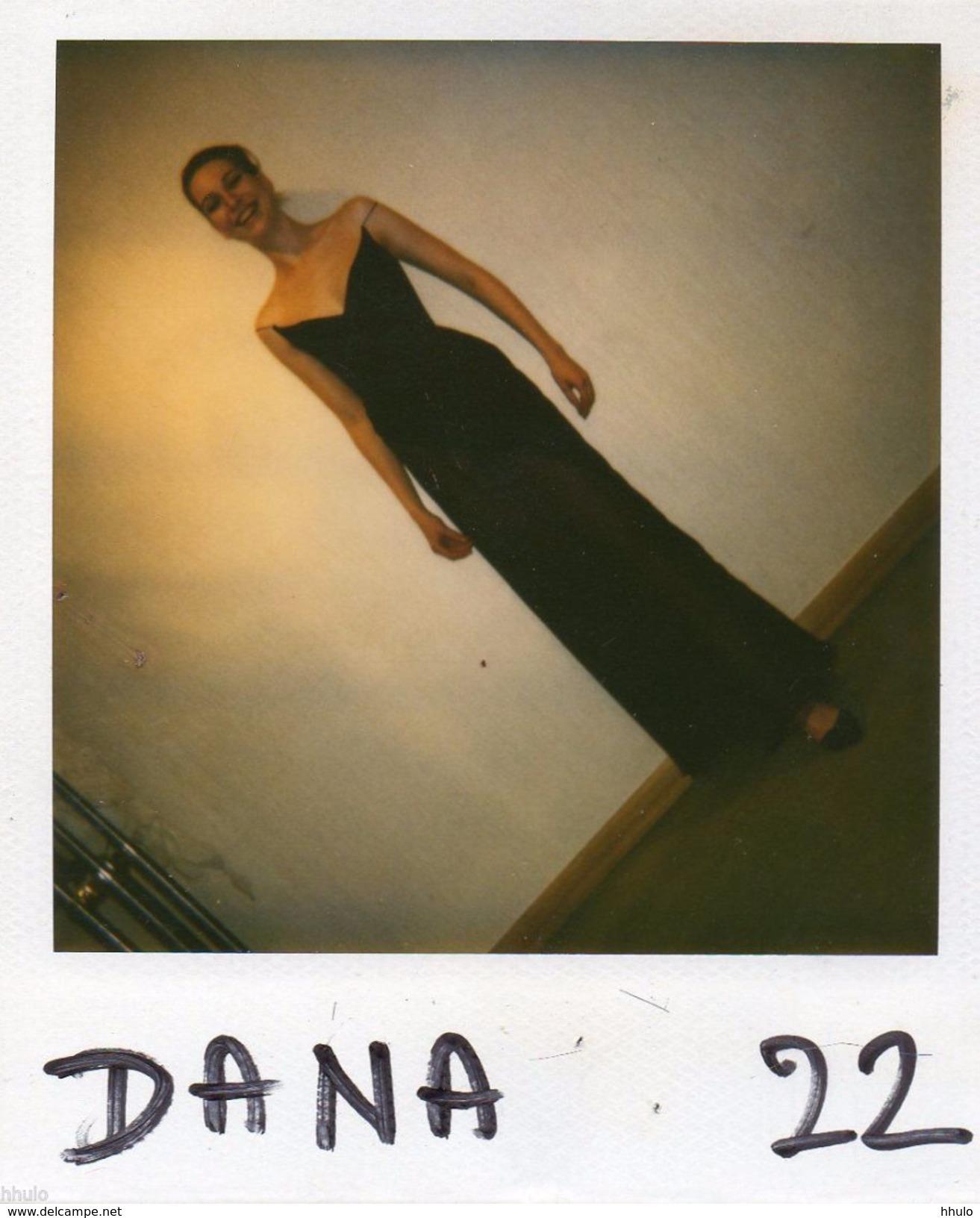 POL551 Polaroid Photo Vintage Original Mode Fashion Mannequin Model Femme Woman - Altri