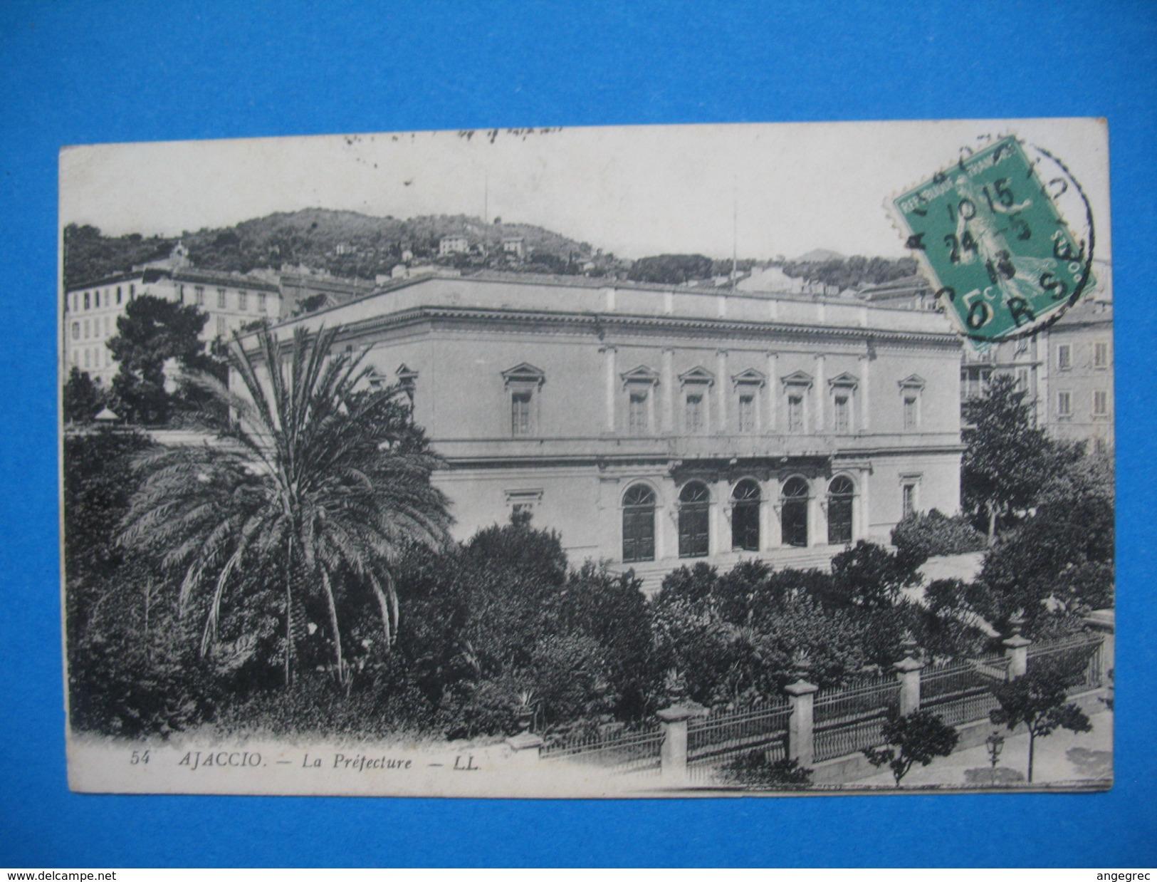 CPA  Ajaccio - La Préfecture  1913 - Monuments