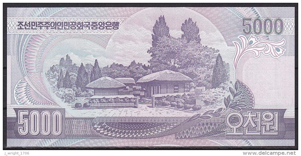 Korea/D.P.R.K:-  5000 Won/P.46b (2006):- UNC - Korea, North