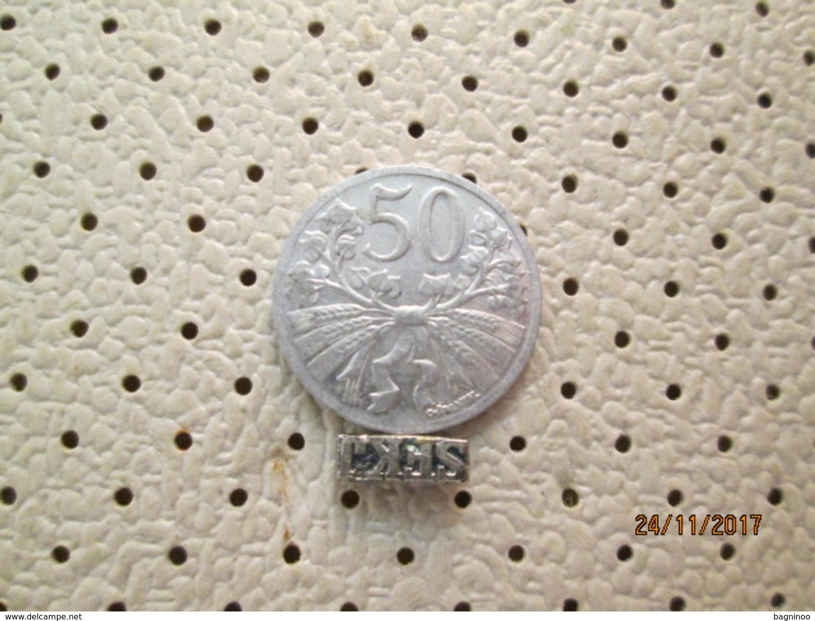 CZECHOSLOVAKIA 50 Haleru 1931 # 5 - Czechoslovakia
