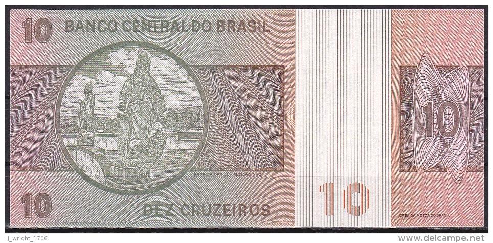 Brazil:- 10 Cruzeiros/P.193e (Signature 20/Series B03937):- A-UNC - Brésil