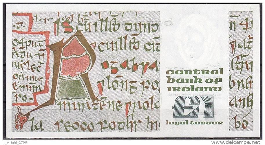 Ireland:- 1 Pound/P.70a (Murry/O'Murchu/29-11-1977):- A-UNC - Irlanda