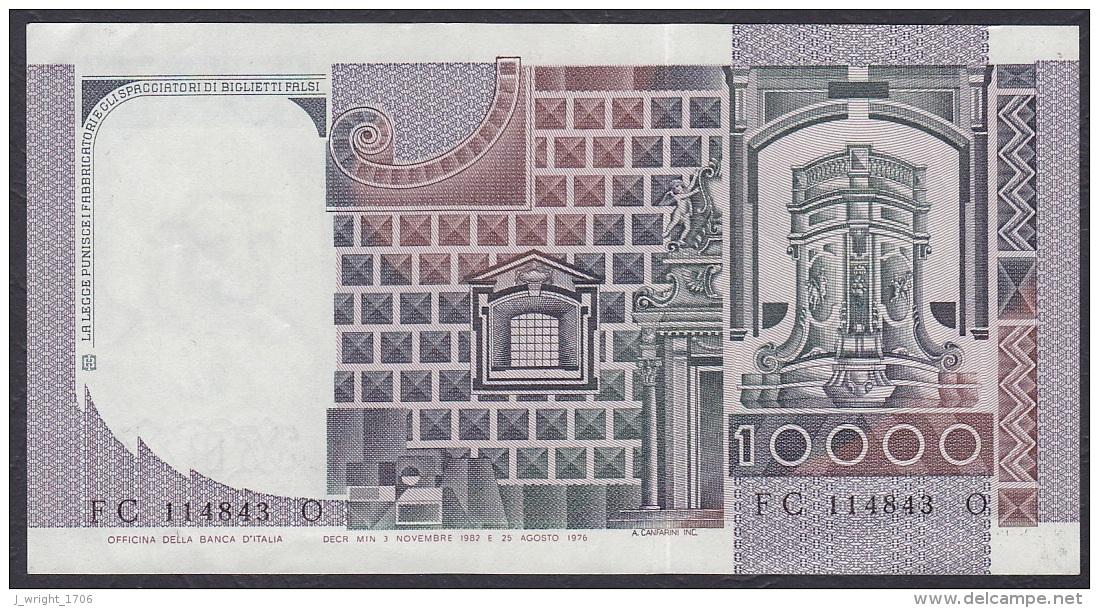 Italy:- 10,000 Lire/P.106b (Ciampi/Stevani/03.11.1982):- EF - 10000 Lire